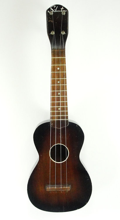Silvertone Vintage Soprano Ukulele c1953