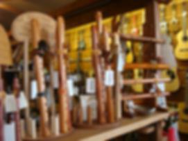 Native American Flutes at The Folk Shop