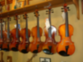 Fiddles Violins at The Folk Shop