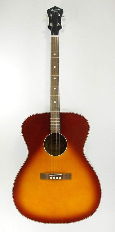 Recording King ROST-7-TS Tenor, Sunburst (NEW)