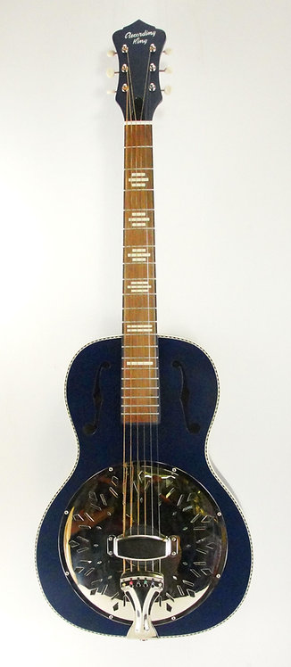 Recording King Dirty 30's Resonator, Wabash Blue (NEW)