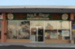 The Folk Shop brick & mortar storefront