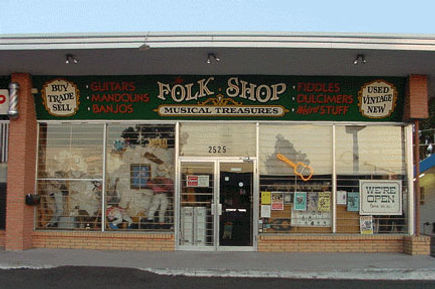 The Folk Shop brick & mortar storefront