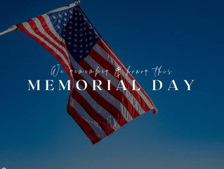We remember and honor those that gave all.