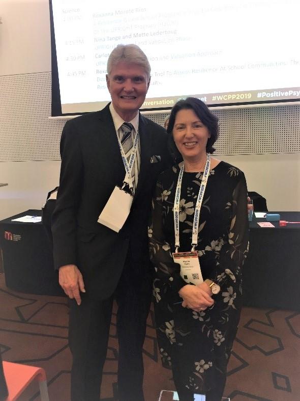 Kim Cameron and Marcia Ryan at WCPP2019