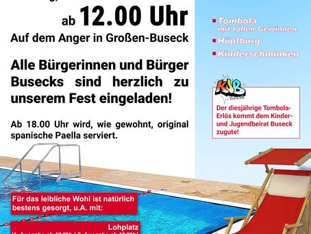 SPD-Sommerfest am 10.08.2019