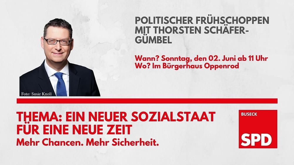 Thorsten Schäfer-Gümbel Politischer Frühschoppen