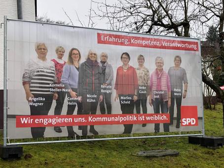 SPD Buseck mit viel Frauen-Power