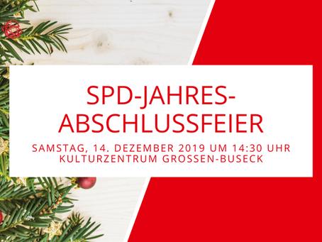 Jahresabschlussfeier des SPD-Ortsvereins Buseck