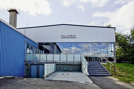 Eingang-Hallenbad Buseck