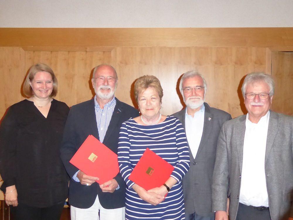 Ehrungen JHV SPD-Ortsverein Buseck 2019