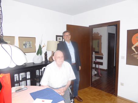 Ehrung ehemaliger SPD-Fraktionsvorsitzender Claus-Jürgen Ladwig