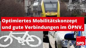Optimiertes Mobilitätskonzept und gute Verbindungen im ÖPNV
