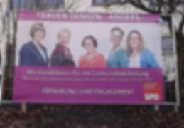 Plakat Frauen SPD Buseck