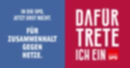 Zusammenhalt gegen Hetzte SPD Buseck
