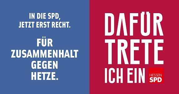 Zusammenhalt gegen Hetze SPD