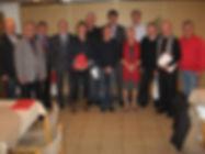 Mitgliedererhng Jahreshauptversammlung SPD Großen Buseck 2014