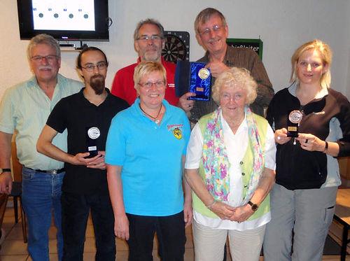 Sieger Pokalschießen Buseck 2012