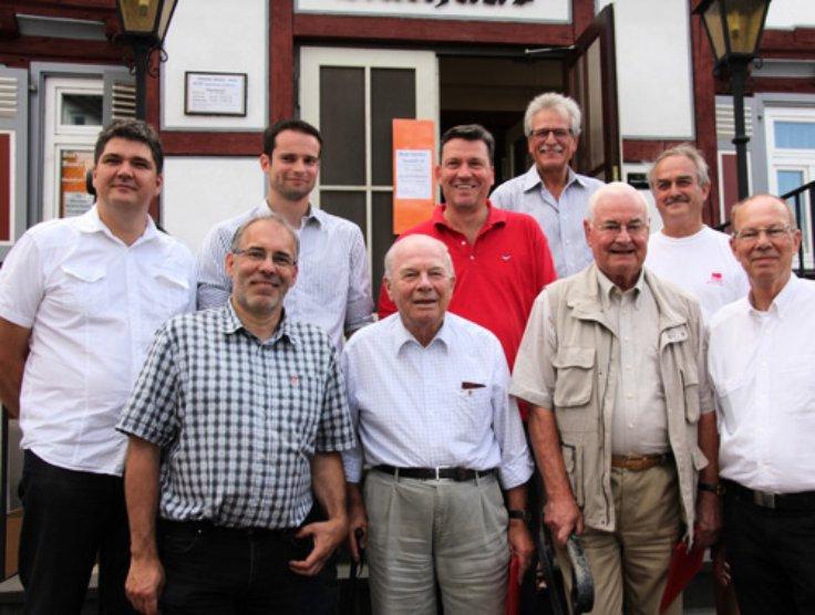 Ehrungen Sommerfest SPD Buseck