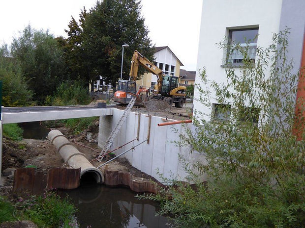 Fußgängerbrücke Goetheschule in Buseck