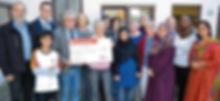 Spendenübergabe Alphabetisierungskrs Frauen