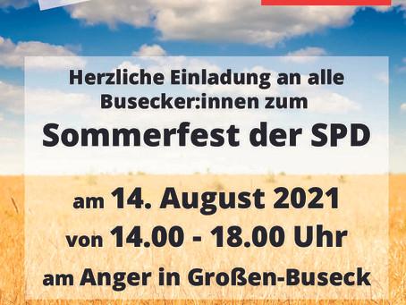 Sommerfest am 14.08.2021