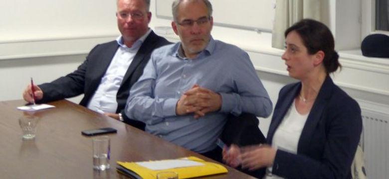 Handan Özgüven bei der SPD Buseck