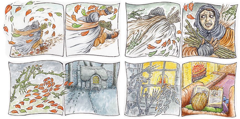 The woods - panels in sequence.jpg