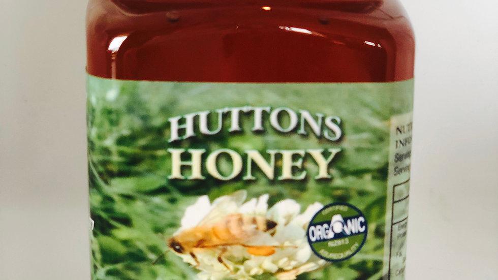 500g Certified Organic Raw Liquid Clover Honey