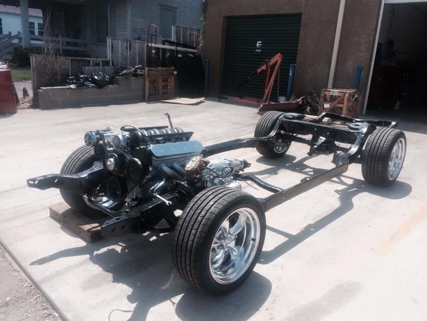 71 Chevy Build1