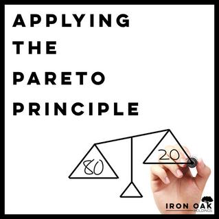 Applying the Pareto Principle
