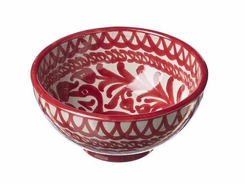 Bol en Céramique Rouge Casa Lopez