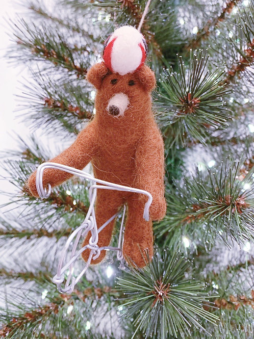 Décoration de Noël Cycling Bear