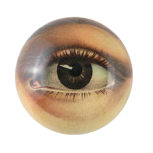 "Assiette decorative convexe  ""Eye bowl (left)"" John Derian"