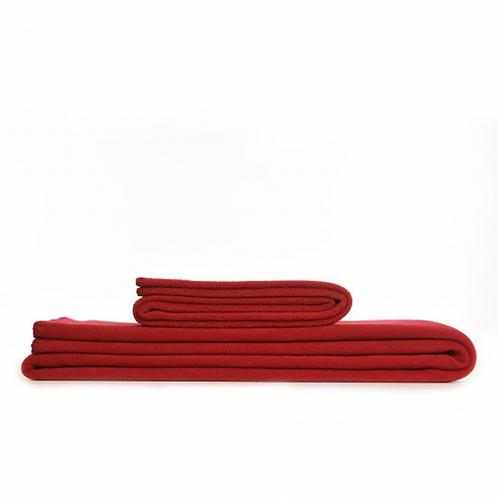 Couverture Polaire Rouge