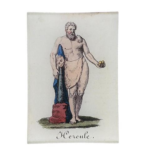 """Assiette rectangulaire """"Hercule"""""""