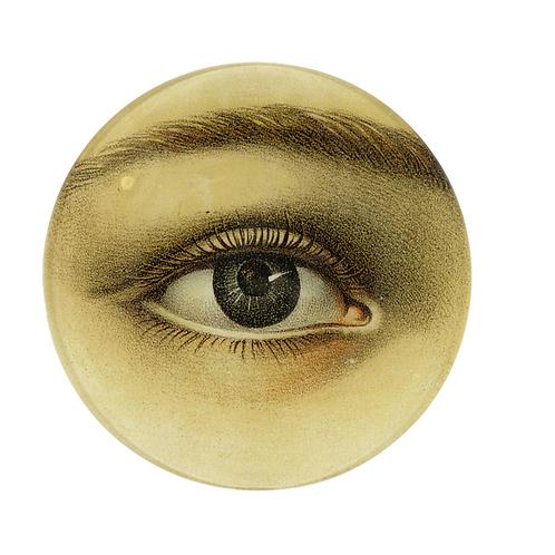 """Assiette décorative """"Eye"""" 13cm John Derian"""