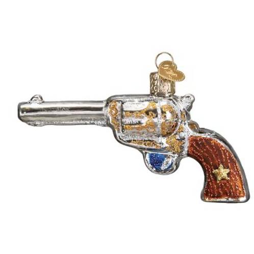 Décoration de Noël Western Revolver