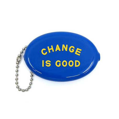 "Porte monnaie  ""Change is good"""