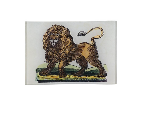 "Assiette decorative ""Drawing book Lion"" John Derian"