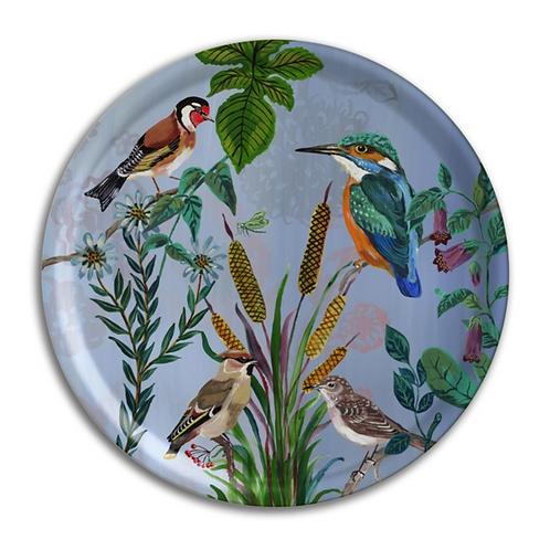 "Plateau rond ""Kingfisher"""