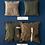Thumbnail: Housse de Coussin Toile Militaire Vintage Puebco