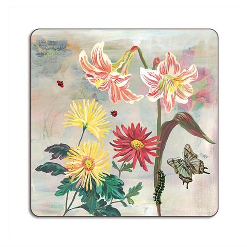 """Dessous de Plat """"Flowers Lillies"""""""