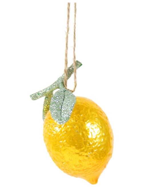 Décoration de Noël Citron