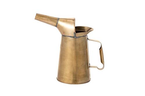 Carafe, Vase en laiton