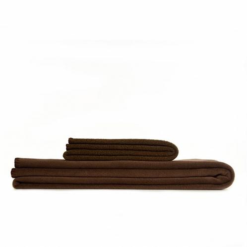 Couverture Polaire Chocolat