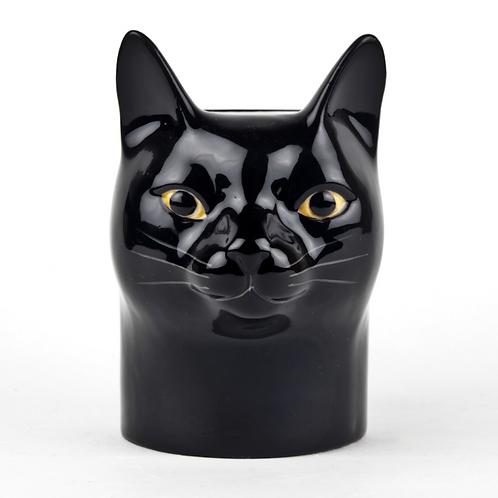 Pot chat noir