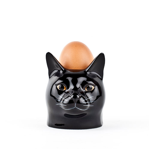 Coquetier Chat Noir