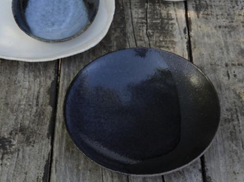 Wabi Noir Assiette Creuse Jars Céramistes