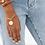 Thumbnail: Bracelet en vermeil 18 carats Daisy WILHELMINA GARCIA
